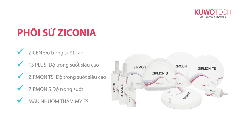 Phôi sứ zirconia