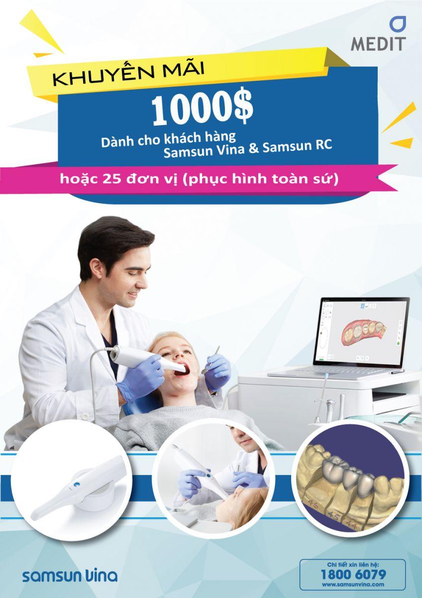 Khuyến mãi 1000$ dành cho khách hàng Samsun Vina & Samsun RC